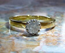 18ct Gold 0.40ct Diamond Solitaire Ring 18k (750)