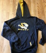 Missouri University Tigers logo Sz youth L 16/18 black hoodie nice condition