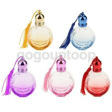 10ml Diamond Glass Perfume Spray Refillable Bottle With Tassel Fragrance Gift