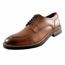 Base London Brooksby Mens Premium Leather Classic Formal Dress Shoes Tan