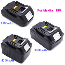 1.5AH/3.0AH/4.5AH 18V Li-ion Battery For Makita BL1815 BL1830 BL1845 Power Tools