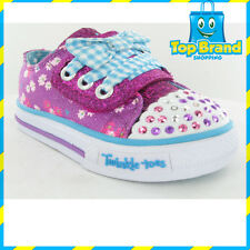 SKECHERS twinkle toes light up GIRLS/KIDS SHOES/SNEAKERS/CASUAL SHOES lights