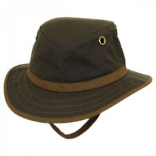 Tilley Outback Hat - TWC7 - Olive with British Tan Trim