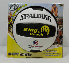 Spalding King of the Beach Volleyball Replica Tour Ball Outdoor Sand Volleyball