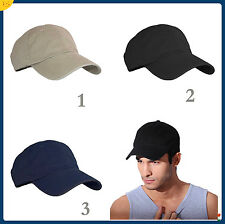Sale Men Women Fitted Curved Bill Plain Solid Blank Baseball Cap Caps Hat Hats