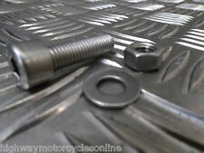KIT CAR 8MM M8  STAINLESS STEEL SOCKET CAP ALLEN BOLTS WITH NUT & WASHER