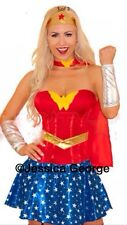 Wonder Woman Fancy Dress adult Costume,fancy dress Outfit NEW corset style
