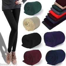 JD  Women NEW  Brushed Stretch Fleece Lined Thick Tights Winter Warm Pants Warm