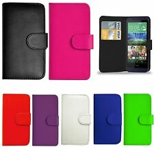Wallet Flip Book Case Premium Pu Leather Cover Pouch for HTC One M9 Wallet Case