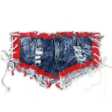 Low Waist Shorts Women Sexy Summer Denim Jeans Shorts Short Mini Hot Pants