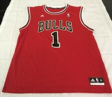 NEW ADIDAS DERRICK ROSE BULLS ROAD SWINGMAN JERSEY