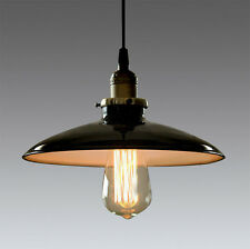 Industrial Vintage Retro Loft Cafe Black Metal Iron Pendant Lamp Ceiling Light
