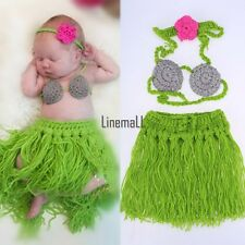 Newborn Boy Girl Baby Crochet Knit Costume Photography Photo Prop Outfit LM