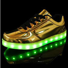 LED Man Women Shoes Lumineux Chaussure Homme Adults Light Up Casual Shoes