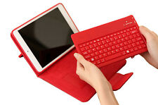 Stand Leather Case Cover With Removable Bluetooth Keyboard For iPad Mini 3 2 1