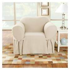 Cotton Duck Chair Slipcover - Sure Fit