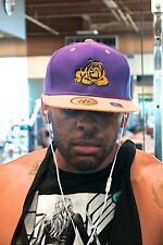 Get @ Me Dawg snapback, purple/gold - cap hat baseball - Omega Psi Phi Que