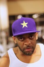 Star Dawg fitted cap, purple - hat baseball snapback - Omega Psi Phi Que
