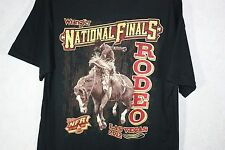 ​NFR LAS VEGAS 2012 NATIONAL FINALS PRO RODEO GEAR MEN'S Black T-SHIRT NWT​