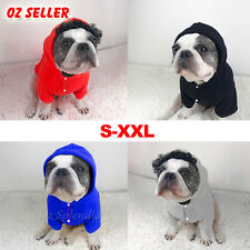 Dog Hoodie Warm Winter Coat Sweater Clothing Pet Puppy Knitwear Costume Jumper