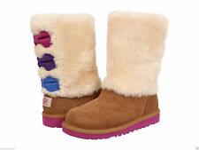 NEW KIDS GIRLS WOMEN UGG AUSTRALIA MALENA BOOT CHESTNUT SUEDE 1005397K ORIGINAL