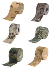 Woodland ACU Desert Digital Multicam Real Tree Kryptek Camo Gun Self Cling Tape