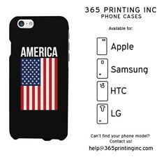 American Flag Design Phone Case - iphone 4-6+, Galaxy S3-6 Note 4, LG G3, HTC M8