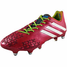 Adidas Mens Predator LZ XTRX SG Pro Football Boots Berry AUTHENTIC