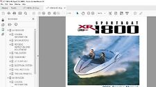 Yamaha Jet Boat service manual XR1800 2000 2001 Service Manual Library XRT1200
