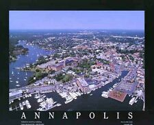 Annapolis Maryland Aerial Panoramic Print Picture