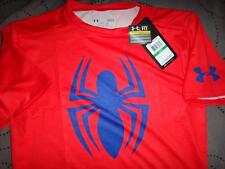 Under Armour Spiderman Compression Alter Ego Shirt Size L XL NWT $44.99