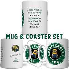 Minion Despicable Tea Coffee Personalised YOUR NAME Starbucks Mug FREE DELIVERY