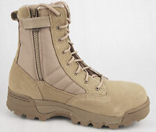 Original Swat Mens 1194 Side Zip Composite Toe Safety Tactical Desert Tan Boots