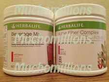 New Herbalife Beverage Mix  & Active Fiber Complex. Choose Flavors.