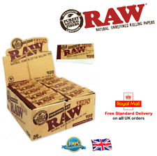 Raw Perforated Wide Tipe Cigaratte Rolling Paper Tips Roach Filter Rizla Box