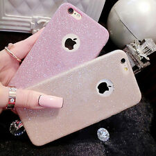 Luxury Glitter Clear Soft Silicone TPU Case Cover Skin for iPhone6 6s/Plus 5s SE