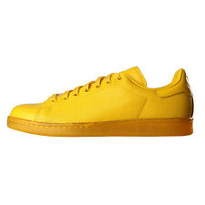 New Mens adidas  Stan Smith Adicolor Trainers - Yellow 100% Leather