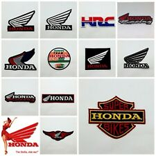 Honda Racing HRC Patch Sew On Iron Embroidered Motorcycle Motor Sport Logo Badge