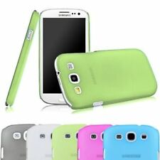 Frosted Case Matte Back Ultra Thin Snap On Cover For Galaxy S3 S 3 III i9300