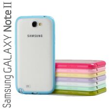 Bumper Case Frost Back Cover for Samsung Galaxy Note 2, Note II, Galaxy GT-N7100
