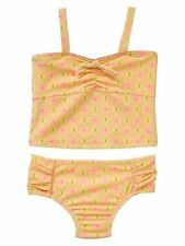 Baby Gap Desert Palm Bow tankini two-piece Yellow Bow Swimsuit New size 18-24m 3
