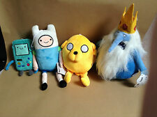 Adventure Time with Finn & Jake Plushes -Choose between 4 Characters or Full Set