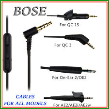 Headphones Cables wire For BOSE QC3 QC 3 QC15 QC25 QC 25 OE2 OE2i AE2 AE2i AE2w