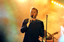 Gary Barlow performing live with Take That photograph picture print by AE Photo