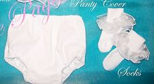 """National Pageant Dress shell accessories  """"ANY COLOR""""(Socks & panty cover ONLY)"""