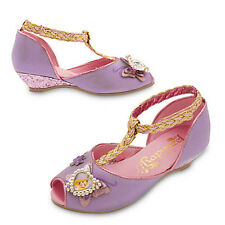 NWT Disney sTore Princess RAPUNZEL COSTUME SHOES GIRL TANGLED SZ 9/10 11/12 2/3