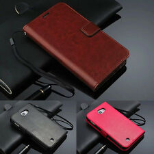Magnetic Wallet Leather Case Cover Skin For Samsung Galaxy Note N7000 i9220
