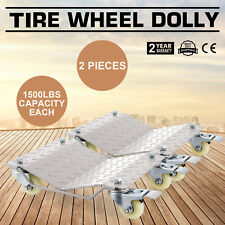 WHEEL DOLLIES DOLLY VEHICLE CAR HEAVY DUTY SLIDE WIDELY TRUSTED STRONG PACKING