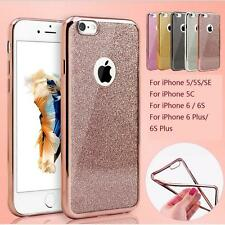 Bling Silicone Glitter ShockProof Case Cover For Apple iPhone SE 6 6S Plus