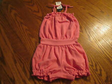 RALPH LAUREN BABY/TODDLER GIRL ROMPER OUTFIT, SIZES 9MO,12MO,18MO NWT